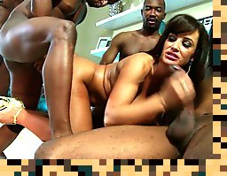 lisa ann interracial anal